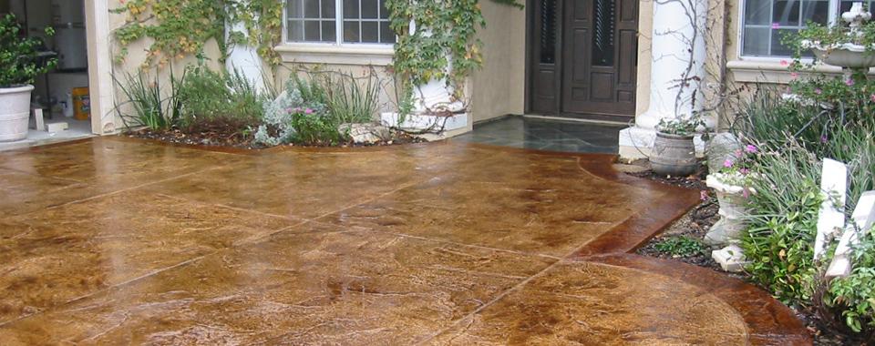 Decorative concrete floor coatings philadelphia pa for Decorative concrete floors residential