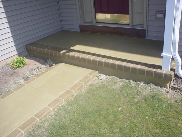 exterior concrete patios