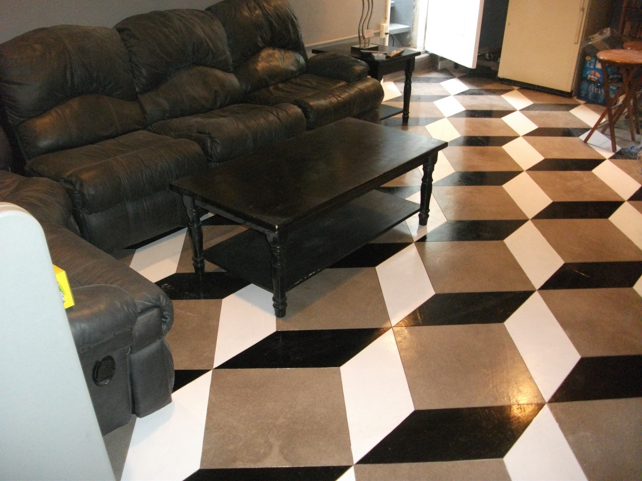 Custom Stained Concrete Floors : Interior concrete flooring is beautiful durable flood and