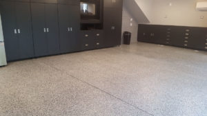 Epxy Garage Floor Finished